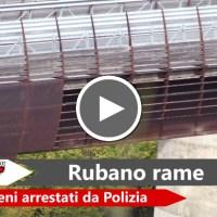 Rubano rame dal viadotto della strada statale 77, arrestati a Foligno