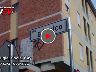 Zone Degrado Permanente, la denuncia in via Vico a Perugia