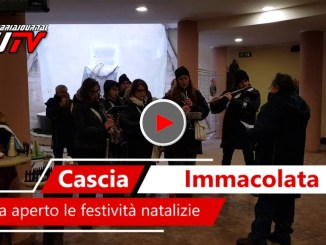 L'Immacolata a Cascia ha aperto le porte alle festività Natalizie, il video