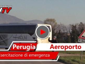 Esercitazione all'aeroporto san Francesco, simulato un incidente aereo