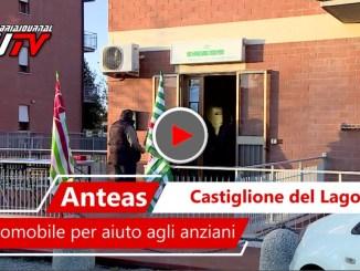 Castiglione del Lago, associazione Anteas inaugura auto per gli anziani