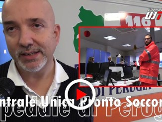 Centrale Unica Operativa del Pronto Soccorso di Perugia, video degli interni