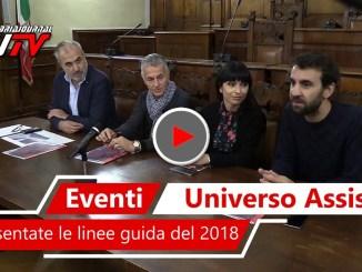Universo Assisi 2018, le linee guida per la prossima edizione
