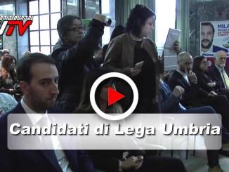 Lega Umbria, il video dei candidati alle politiche 2018
