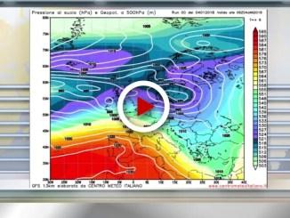 Meteo Domani 5 Gennaio 2018: tempo in peggioramento al Nord Italia dalla serata