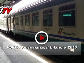 Polizia Ferroviaria Umbria, il bilancio 2017, il video di un anno appena trascorso