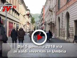 Saldi invernali, al via in Umbria il 5 gennaio 2018, il video