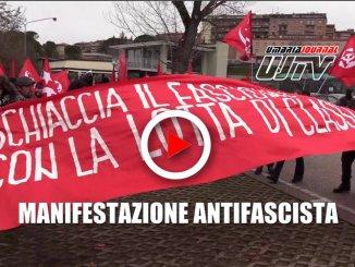 Manifestazione antifascista, Perugia blindata durante il corteo, il video