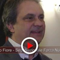 Roberto Fiore inaugura nuova sede Forza Nuova a Perugia, la sua dichiarazione