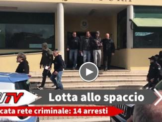 Droga tra Terni e Roma, in 14 finiscono in manette. L'operazione condotta dalla Polizia ha disarticolato una rete criminale multietnica.
