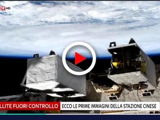 Stazione spaziale cinese in caduta le prime immagini video di Tiangon 1