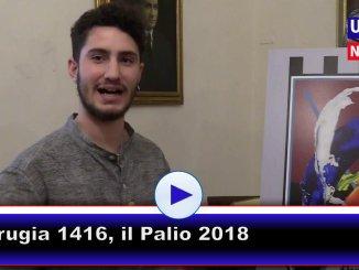 Perugia 1416, l'artista Filippo Moroni descrive il Palio 2018