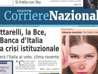 Nuovo Corriere Nazionale del 29 maggio 2018 sfoglia le pagine