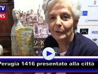 Perugia 1416, oggi pomeriggio presentata l'edizione 2018alla città
