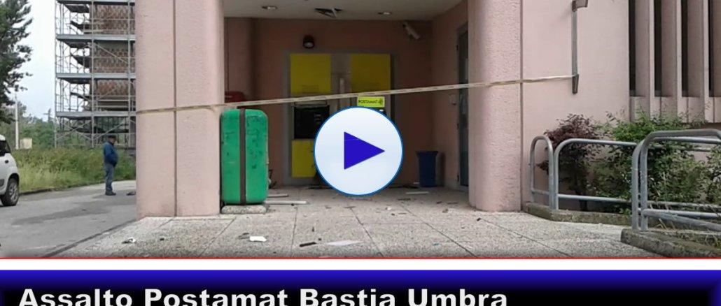 Esplosione nella notte, assaltato postamat a Bastia Umbra