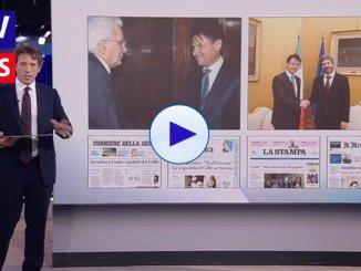 Rassegna stampa nazionale i giornali si concentrano su Giuseppe Conte