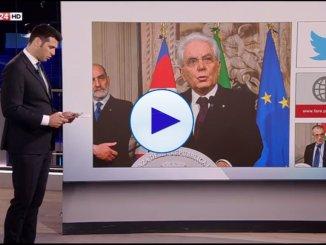 Attacchi e solidarietà al presidente Mattarella