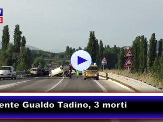 Incidente stradale a Gualdo Tadino, sulla nuova Flaminia tre morti, una carbonizzata