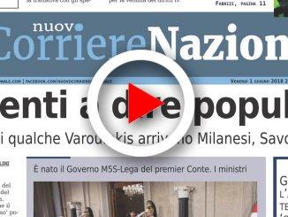 Il Nuovo Corriere Nazionale dell'1 giugno 2018, sfoglia il giornale