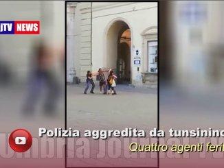 Due poliziotti aggrediti a Città di Castello, altre violenze in commissariato