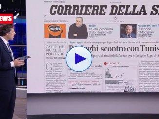 La rassegna stampa nazionale, caso Tunisia Salvini, Flat tax, ucciso nero
