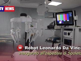Robot chirurgico Leonardo Da Vinci XI all'ospedale di Spoleto, prime immagini