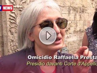 Omicidio di Raffaella Presta donne in presidio davanti la Corte a Perugia