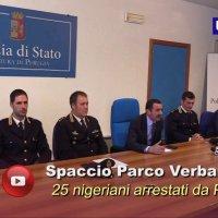 Parco Verbanella di Perugia è libero, 25 spacciatori nigeriani in manette