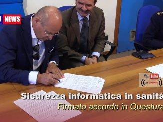 Polizia postale e Questura, protocollo sicurezza informatica Usl Umbria 1