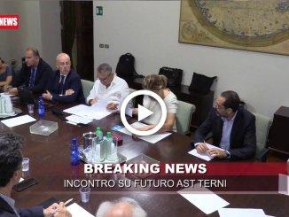 Incontro in regione sul futuro delle acciaierie di Terni