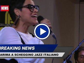 Karima a Jazz Italiano per le terre del sisma a Scheggino in Valnerina