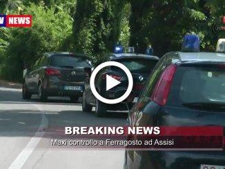 Controlli a sorpresa dei Carabinieri di Assisi a Ferragosto, li abbiamo seguiti con un video camera car