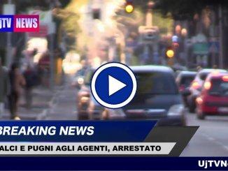 Giovane straniero dà di matto e aggredisce agente, arrestato