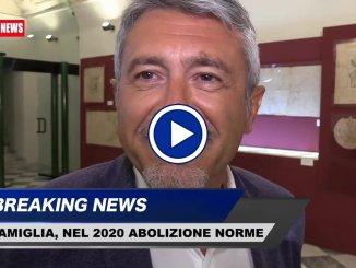 Famiglia, Valerio Mancini, nel 2020 cancelleremo norme sbagliate