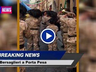 Video della Festa dei Bersaglieri a Porta Pesa di Perugia, tre giorni di iniziative