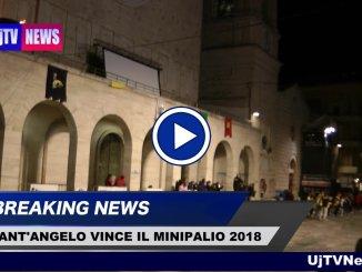 Il Rione Sant'Angelo vince il Mini Palio 2018 che ti tinge di giallo