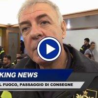 Michele Zappia nuovo comandante vigili del fuoco Perugia, intervista video