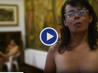 Nudi al museo, è una iniziativa del Medelin in Colombia, vediamo il video