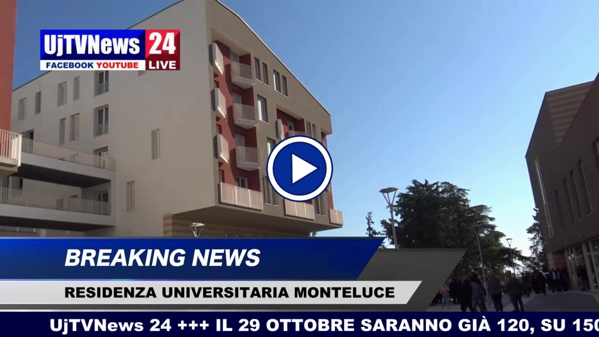 A Monteluce una residenza universitaria Adisu le video interviste