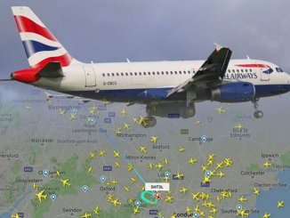 Londra Heathrow, aereo bloccato sulla pista dopo l'atterraggio d'emergenza