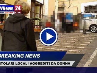 Titolari locale Perugia aggrediti, il video del litigio