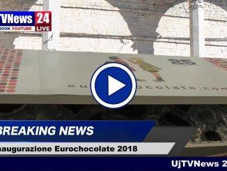 Eurochocolate 2018, inaugurata la 25esima edizione con delle deliziose max praline