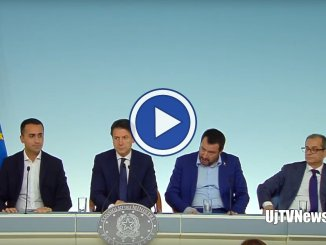 Governo, approvato il Draft Budgetary Plan, video conferenza, ora a Bruxelles
