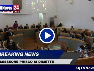 Emanuele Prisco lascia incarico di assessore, il video della dichiarazione