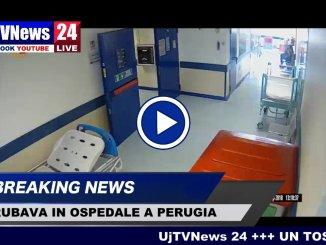 Video del tossicodipendente presunto ladro, colpiva nell'ospedale di Perugia