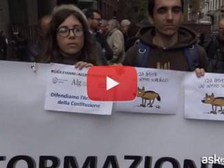 #GiùLeManiDallInformazione, giornalisti in piazza video in tutta Italia