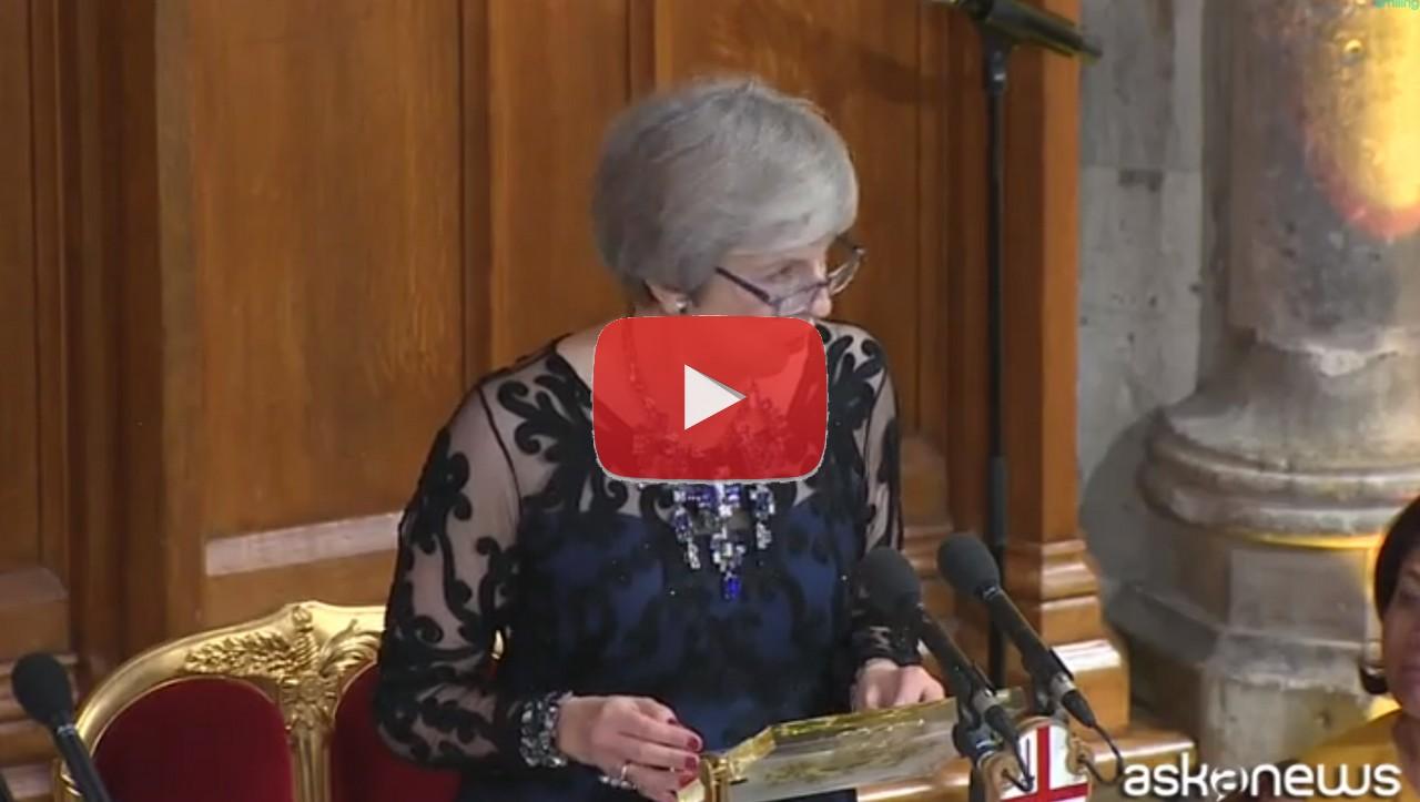 Brexit, fra Ue e Londra raggiunto accordo tecnico, video intervento Theresa May