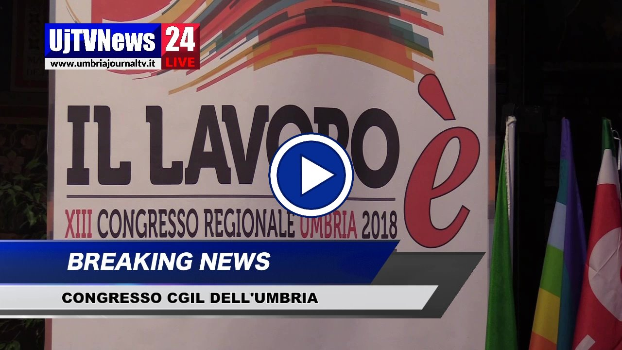 XIII congresso regionale dellaCgildell'Umbria, il video