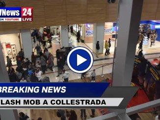 Flash mob, Collestrada, in cento danzano contro violenza donne [Video]
