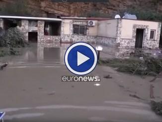 Da Nord a Sud, video dell'Italia sferzata dal maltempo, vittime e danni